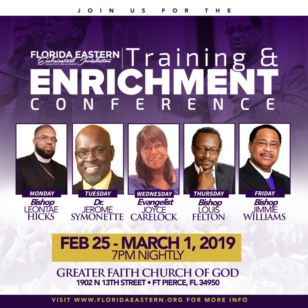 Training and Enrichment Conference 2019 | Florida Eastern